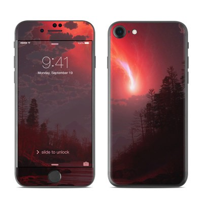 Apple iPhone 7 Skin - Red Harbinger