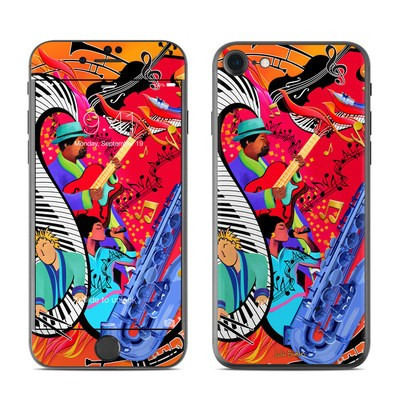 Apple iPhone 7 Skin - Red Hot Jazz