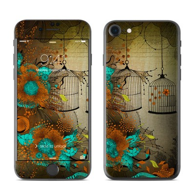 Apple iPhone 7 Skin - Rusty Lace