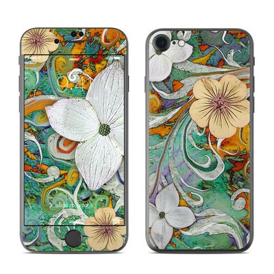 Apple iPhone 7 Skin - Sangria Flora