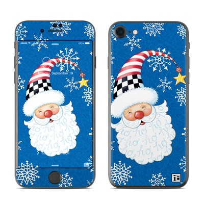 Apple iPhone 7 Skin - Santa Snowflake
