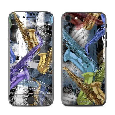 Apple iPhone 7 Skin - Sax