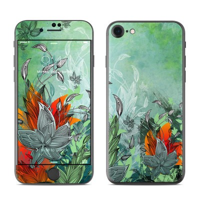 Apple iPhone 7 Skin - Sea Flora