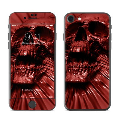Apple iPhone 7 Skin - Skull Blood