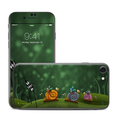 Apple iPhone 7 Skin - Snail Race