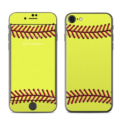 Apple iPhone 7 Skin - Softball