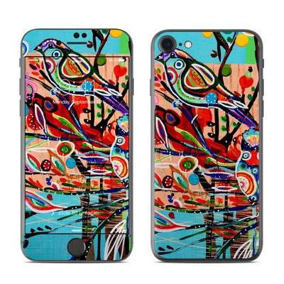 Apple iPhone 7 Skin - Spring Birds