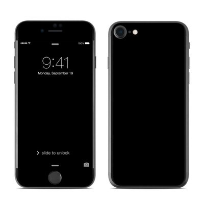 Apple iPhone 7 Skin - Solid State Black