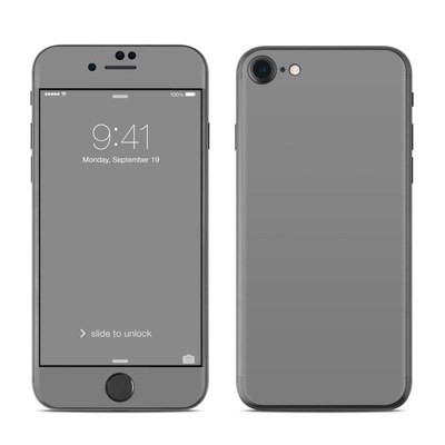 Apple iPhone 7 Skin - Solid State Grey