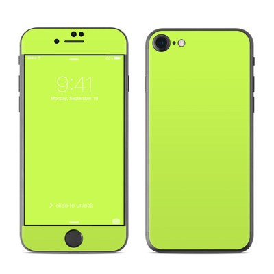 Apple iPhone 7 Skin - Solid State Lime