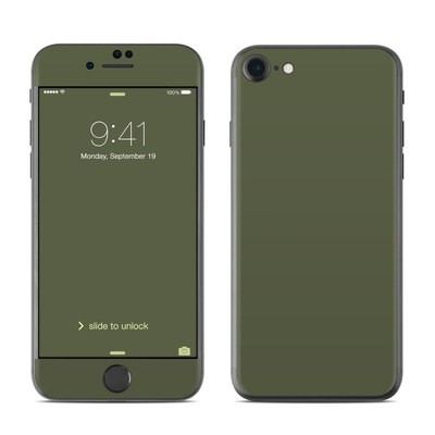 Apple iPhone 7 Skin - Solid State Olive Drab