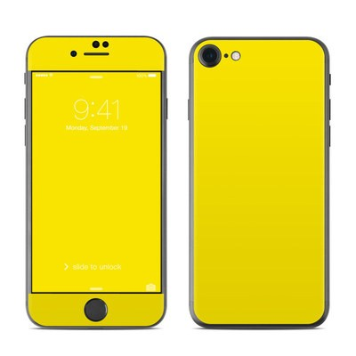 Apple iPhone 7 Skin - Solid State Yellow