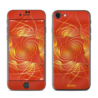 Apple iPhone 7 Skin - Spiral Stellations