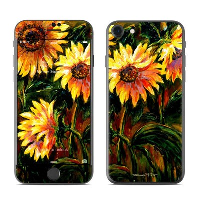 Apple iPhone 7 Skin - Sunflower Sunshine