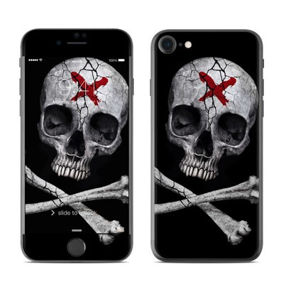 Apple iPhone 7 Skin - Stigmata Skull