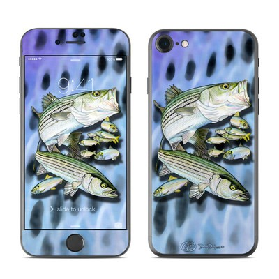 Apple iPhone 7 Skin - Striped Bass