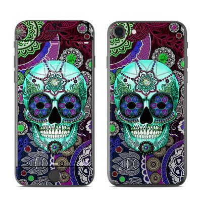 Apple iPhone 7 Skin - Sugar Skull Sombrero