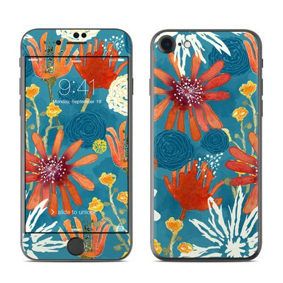 Apple iPhone 7 Skin - Sunbaked Blooms