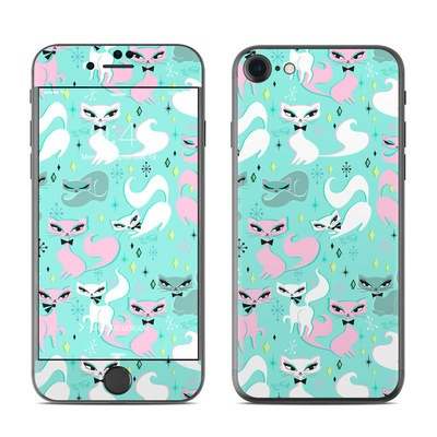 Apple iPhone 7 Skin - Swanky Kittens