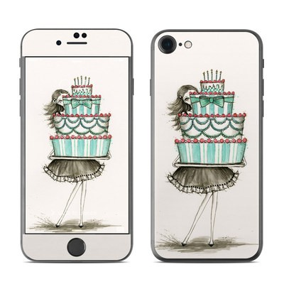 Apple iPhone 7 Skin - She Takes The Cake