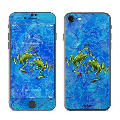 Apple iPhone 7 Skin - Tiger Frogs