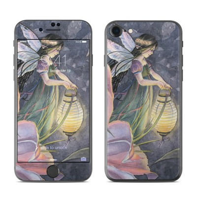 Apple iPhone 7 Skin - Twilight Lilies