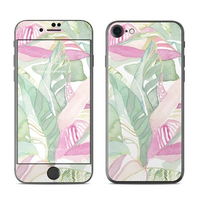 Apple iPhone 7 Skin - Tropical Leaves