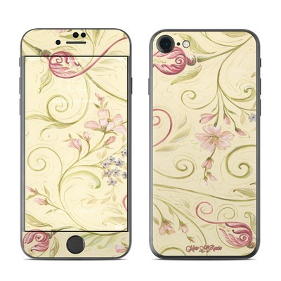 Apple iPhone 7 Skin - Tulip Scroll