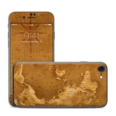 Apple iPhone 7 Skin - Upside Down Map