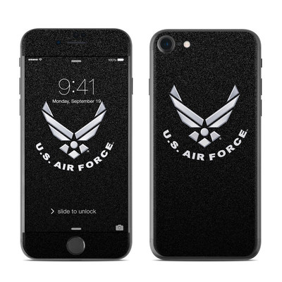 Apple iPhone 7 Skin - USAF Black