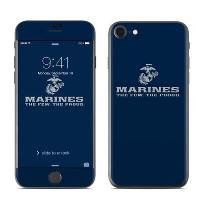 Apple iPhone 7 Skin - USMC Blue