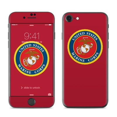 Apple iPhone 7 Skin - USMC Red