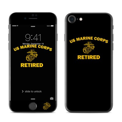 Apple iPhone 7 Skin - USMC Retired