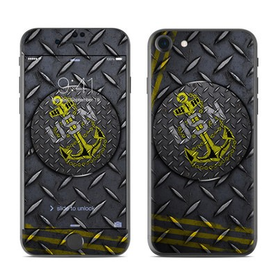 Apple iPhone 7 Skin - USN Diamond Plate