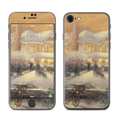 Apple iPhone 7 Skin - Victorian Christmas