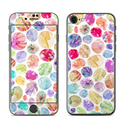 Apple iPhone 7 Skin - Watercolor Dots
