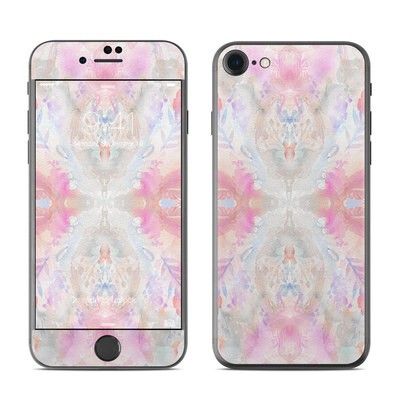 Apple iPhone 7 Skin - Watercolor Damask
