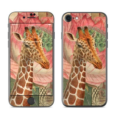 Apple iPhone 7 Skin - Whimsical Giraffe