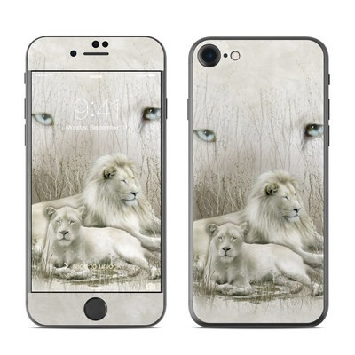 Apple iPhone 7 Skin - White Lion
