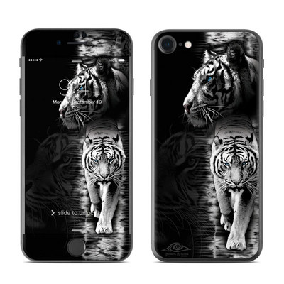 Apple iPhone 7 Skin - White Tiger