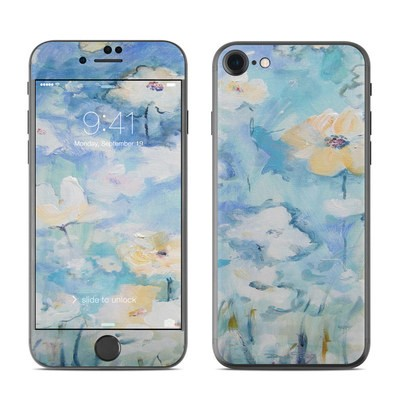 Apple iPhone 7 Skin - White & Blue