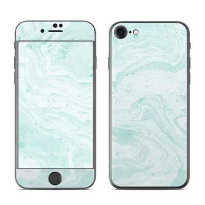 Apple iPhone 7 Skin - Winter Green Marble