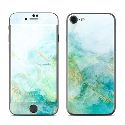 Apple iPhone 7 Skin - Winter Marble