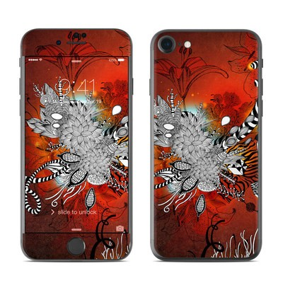 Apple iPhone 7 Skin - Wild Lilly