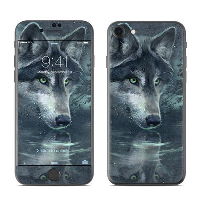 Apple iPhone 7 Skin - Wolf Reflection