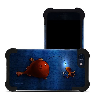 Apple iPhone 7 Bumper Case - Angler Fish