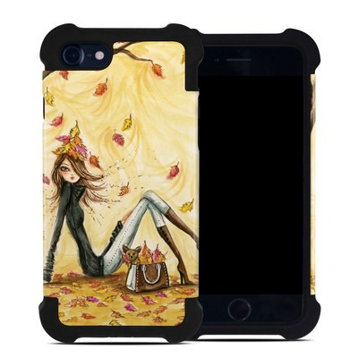 Apple iPhone 7 Bumper Case - Autumn Leaves