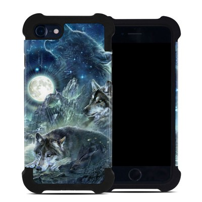 Apple iPhone 7 Bumper Case - Bark At The Moon