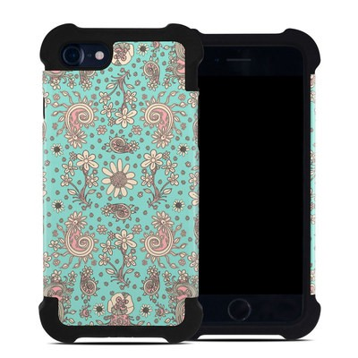 Apple iPhone 7 Bumper Case - Birds Of A Flower