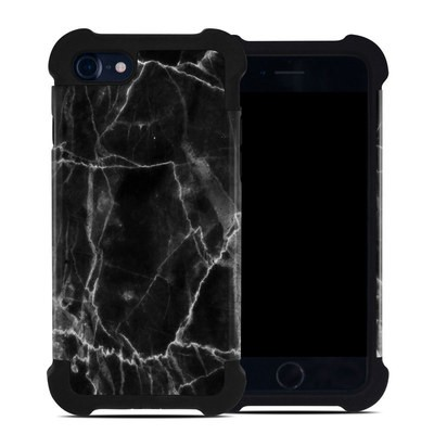 Apple iPhone 7 Bumper Case - Black Marble